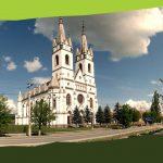 Kavillálás Ditróban (Jézus Szent Szíve templom, Szent Katalin templom, Kossuth Lajos park)