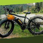 Bikkla, kölcsönözhető elektromos biciklik (Gyilkos-tó, fizetős)